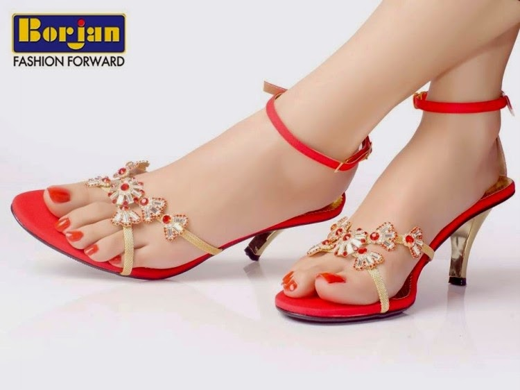 Borjan Shoes Collection 2014 For Women Girls Ladies Fancy Wedding