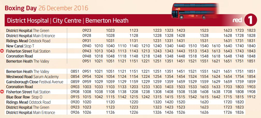 Southampton Bus Update: Boxing Day 2016's buses