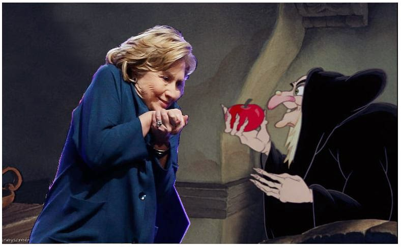 Image result for hillary is a witch