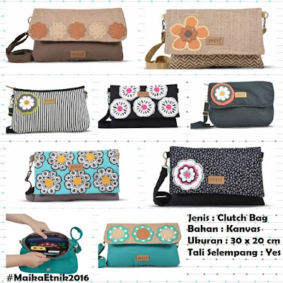 tas maika etnik 2016 ready stock