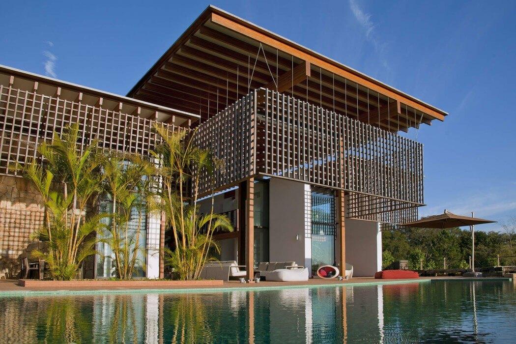 Casa en la selva atl ntica de brasil candida tabel for Arquitectura y diseno de casas