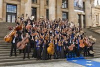 European Union Youth Orchestra in Berlin, 2013