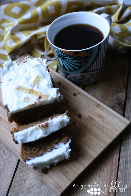 Mr Kipling Gluten Free Ginger and Lemon Cake | Anyonita-Nibbles