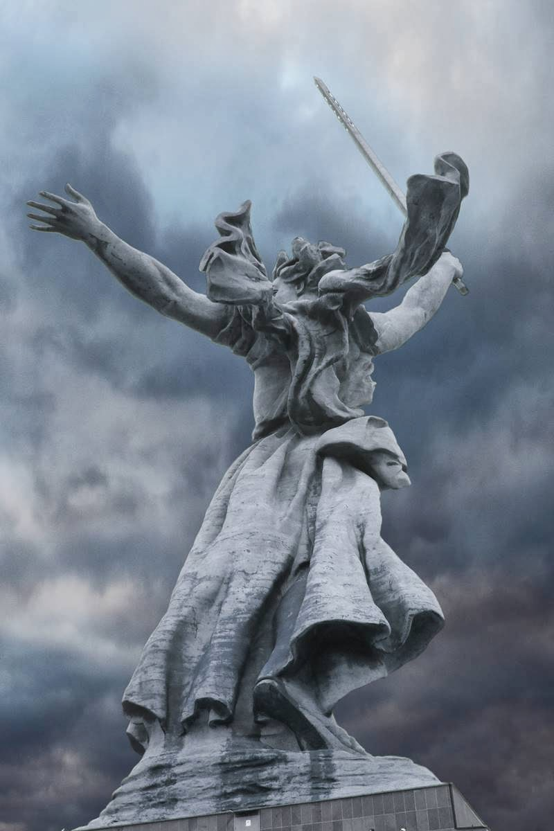 The Motherland Calls | Mamaev Kurgan in Volgograd, Russia