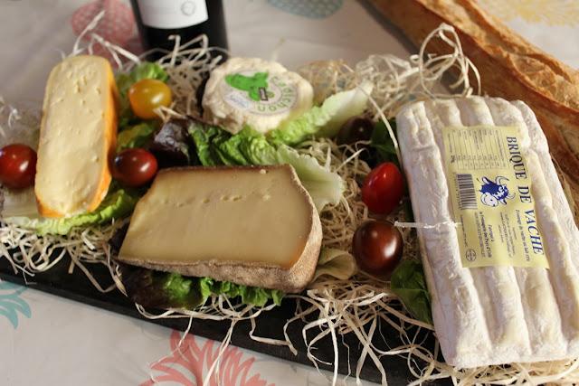 commande une box de fromage