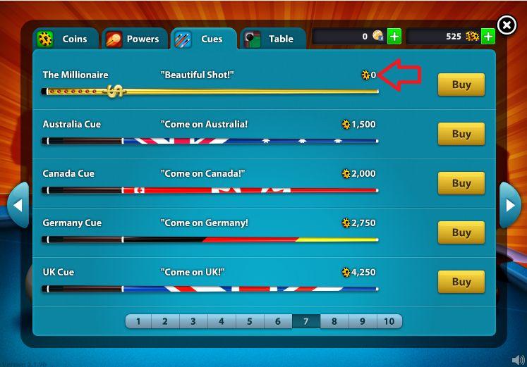 8 Ball Pool Millionaire Cue Cheat 2014 Cheat Engine