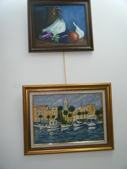 Les peintures de mes élèves à l'expo 20