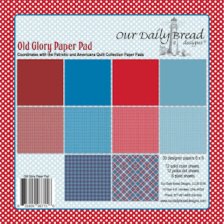 Our Daily Bread Designs Paper Collection: Old Glory