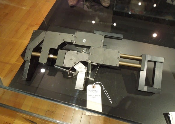 Dark Knight sticky bomb gun prop