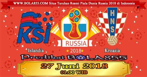 Prediksi Bola855 Iceland vs Croatia 27 Juni 2018