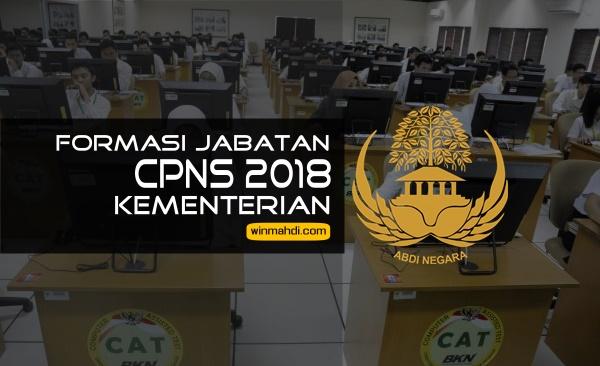 Rincian Formasi Jabatan CPNS