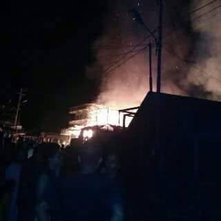 Kebakaran di Pasar Tandikek Hanguskan 5 Ruko dan Rumah
