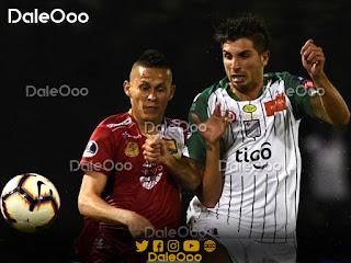 Lucas Mugni anotó los dos goles en el empate entre Águilas Doradas y Oriente Petrolero por la Copa Sudamericana - DaleOoo