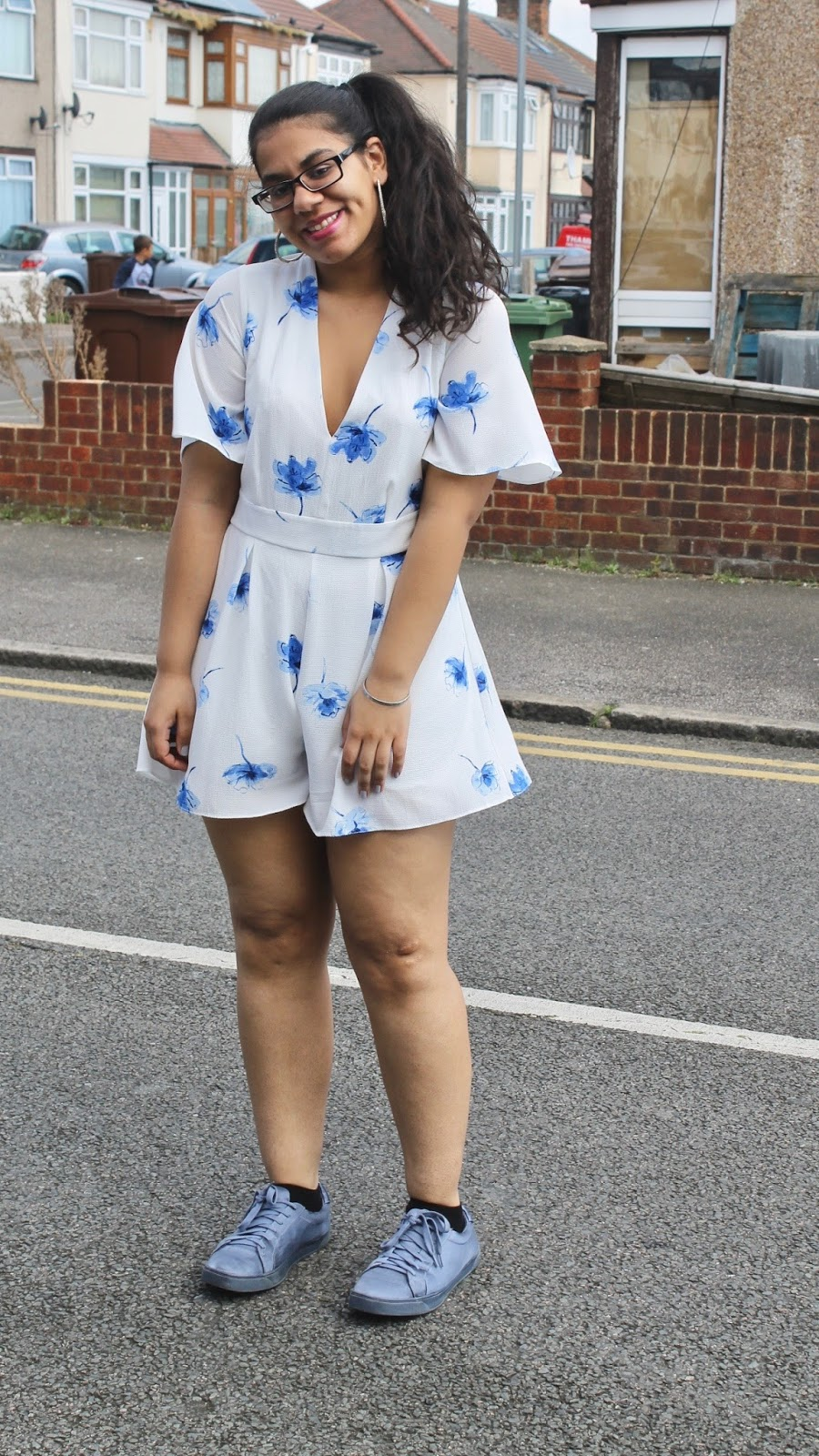 Blue Floral Style Inspiration