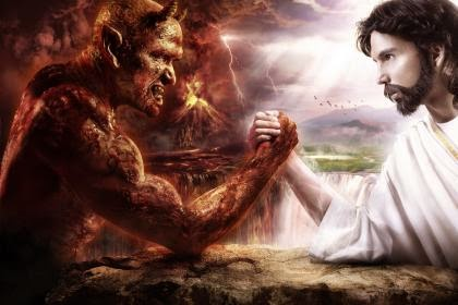 Jesus vs Devil