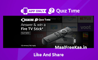 Fire TV Stick Free