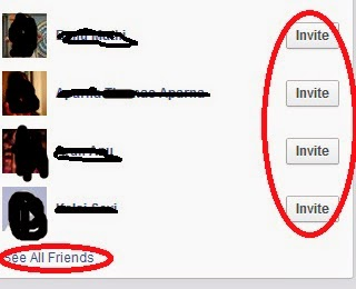 facebook auto invite all friends to facebook