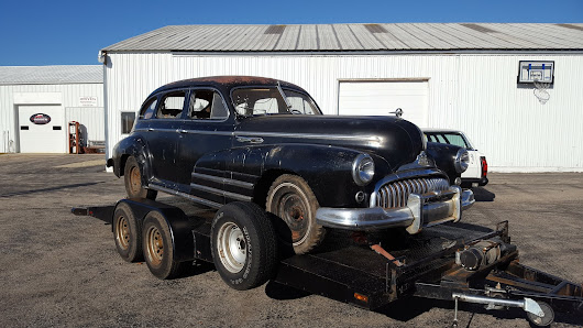 A closer look at the 1949 Buick Special Series 41 Sedan