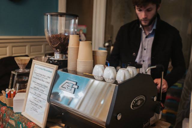 percolateur disquaire barista cafe itinerant narbonne