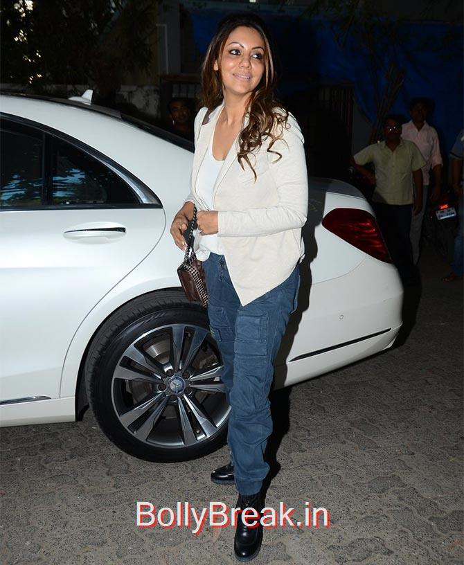 Gauri Khan, Anushka Sharma Hot Pics At Bombay Velvet screening
