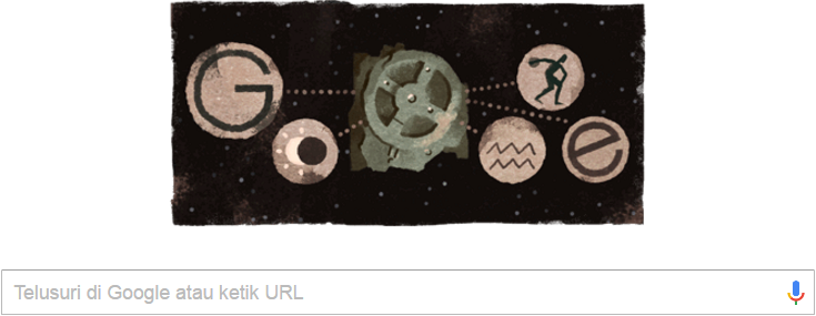 Google Doodle -  Mekanisme Antikythera