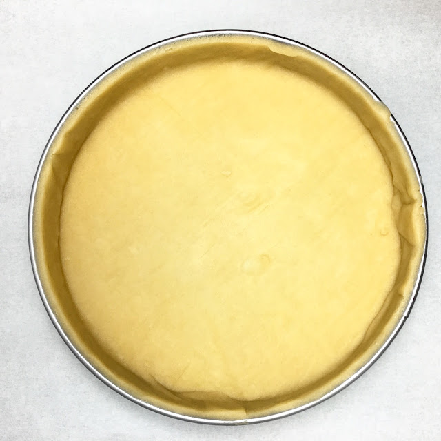 Unbaked Pate Sucree Tart Shell