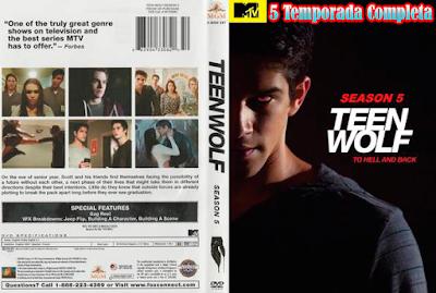 Série Teen Wolf 5º Temporada DVD Capa