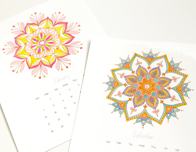 http://www.apieceofrainbow.com/mandala-coloring-pages