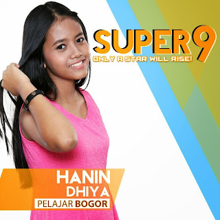 Hanin dhiya rising star indonesia super 9