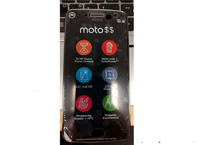 Moto G5 Plus leaked image & specifications