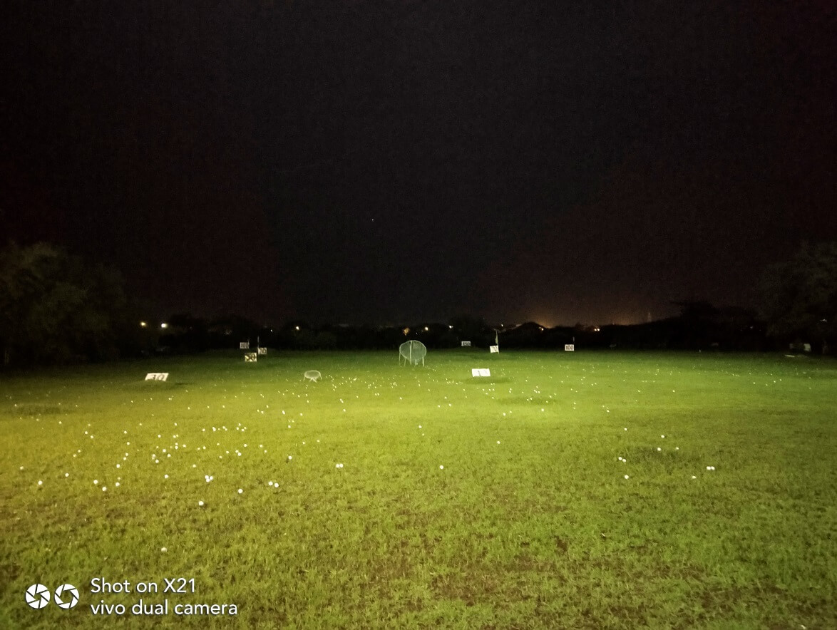 Vivo X21 Main Cameras Sample - Outdoor, Driving Range, Night