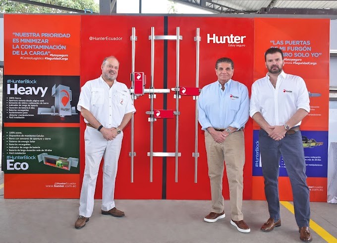Hunter presentó sus innovaciones tecnológicas para el mercado de transporte y logística