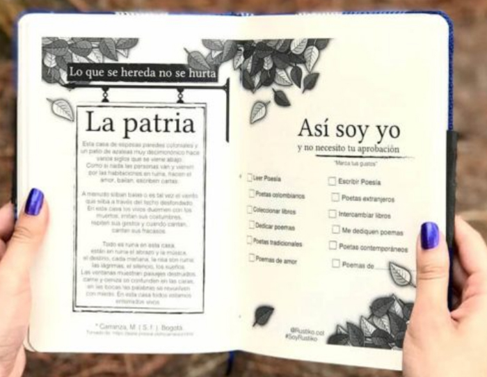 Rustiko: cuadernos y objetos colombianos llenos de poesía