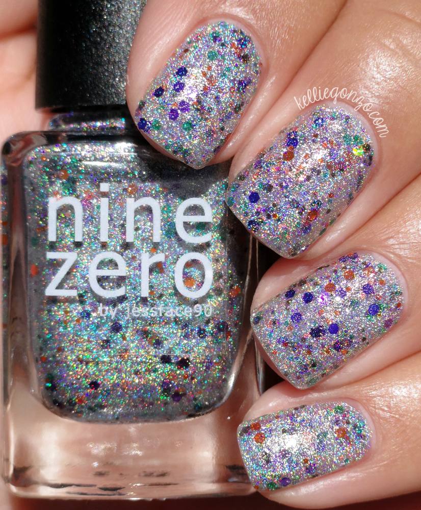 Nine Zero Lacquer Spooky Lights