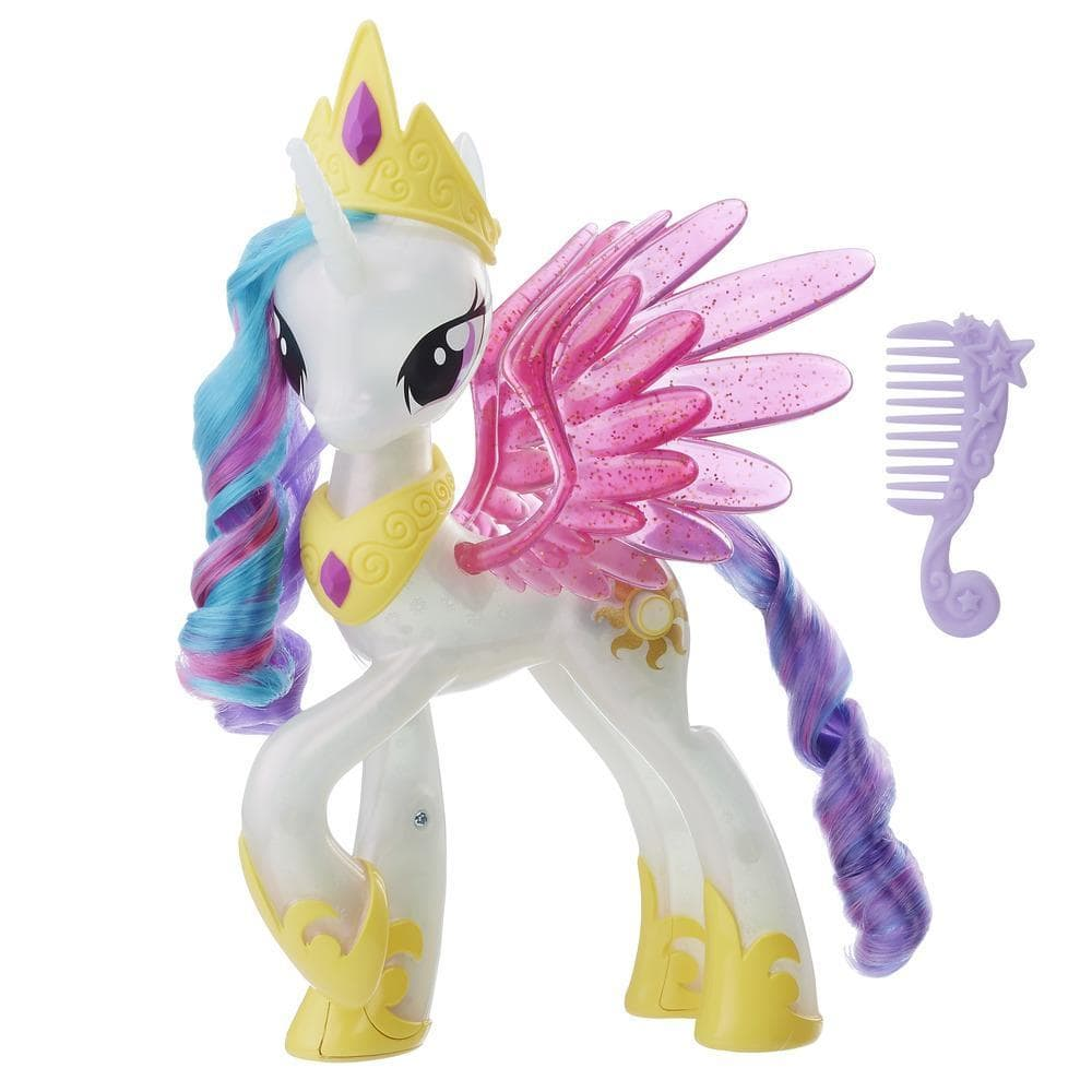 Glitter & Glow Princess Celestia Spotted on HasbroToyShop ...