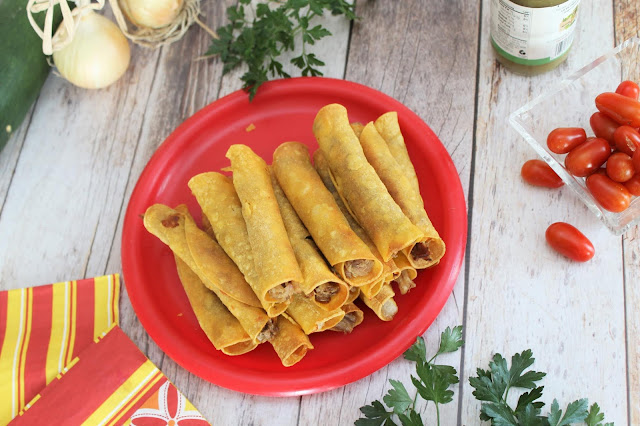 Slow Cooker Mexican Pork Taquitos
