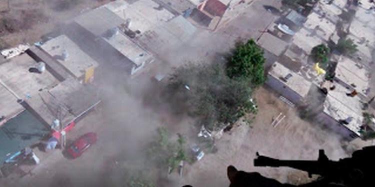 VIDEO: Impresionante operativo de persecución aérea contra sicarios en Culiacán, Sinaloa