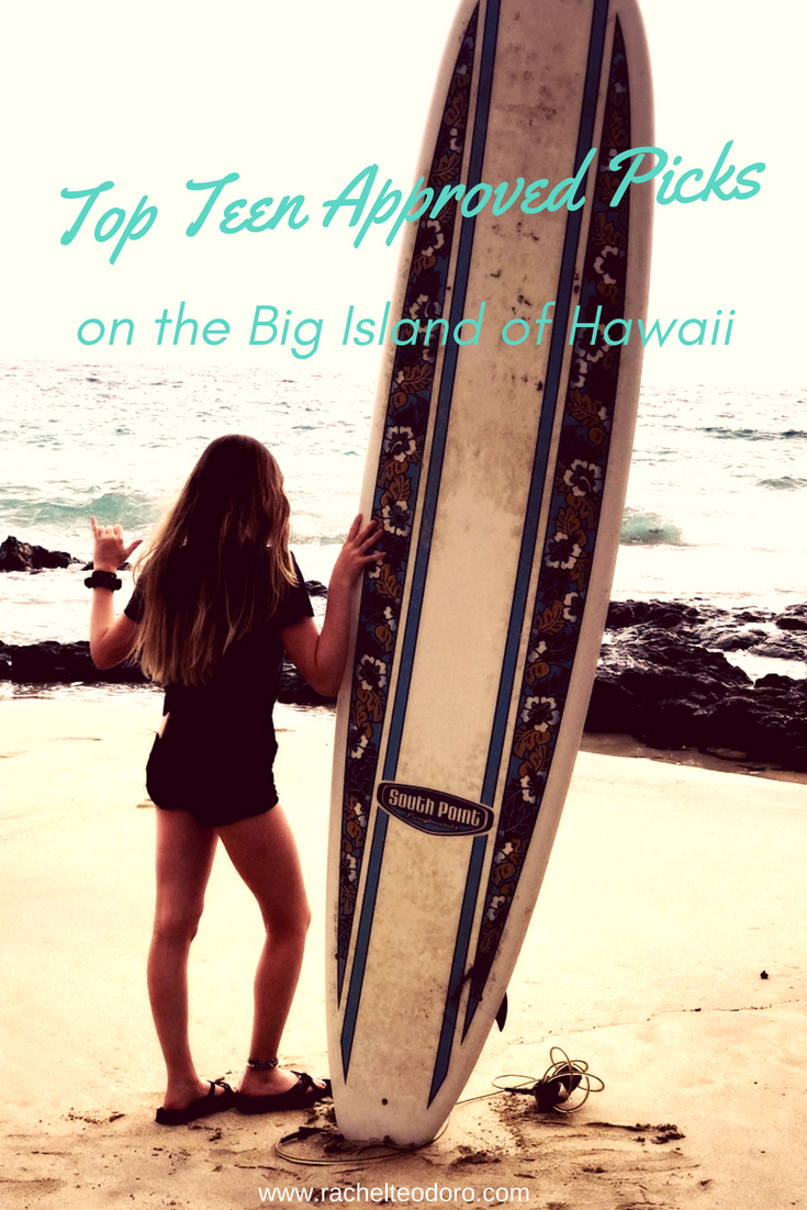 teen girl with a surfboard
