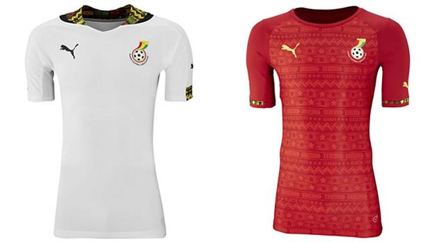 Camisetas selección Ghana Mundial 2014