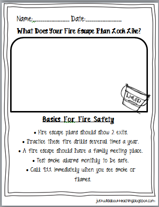 Printables Free Fire Safety Worksheets fire safety worksheets davezan free davezan