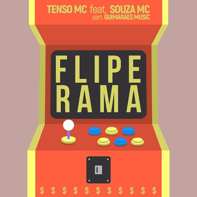 """Tenso Mc lança o som """"Fliperama"""" com part. de Souza Mc & Guimarães"""