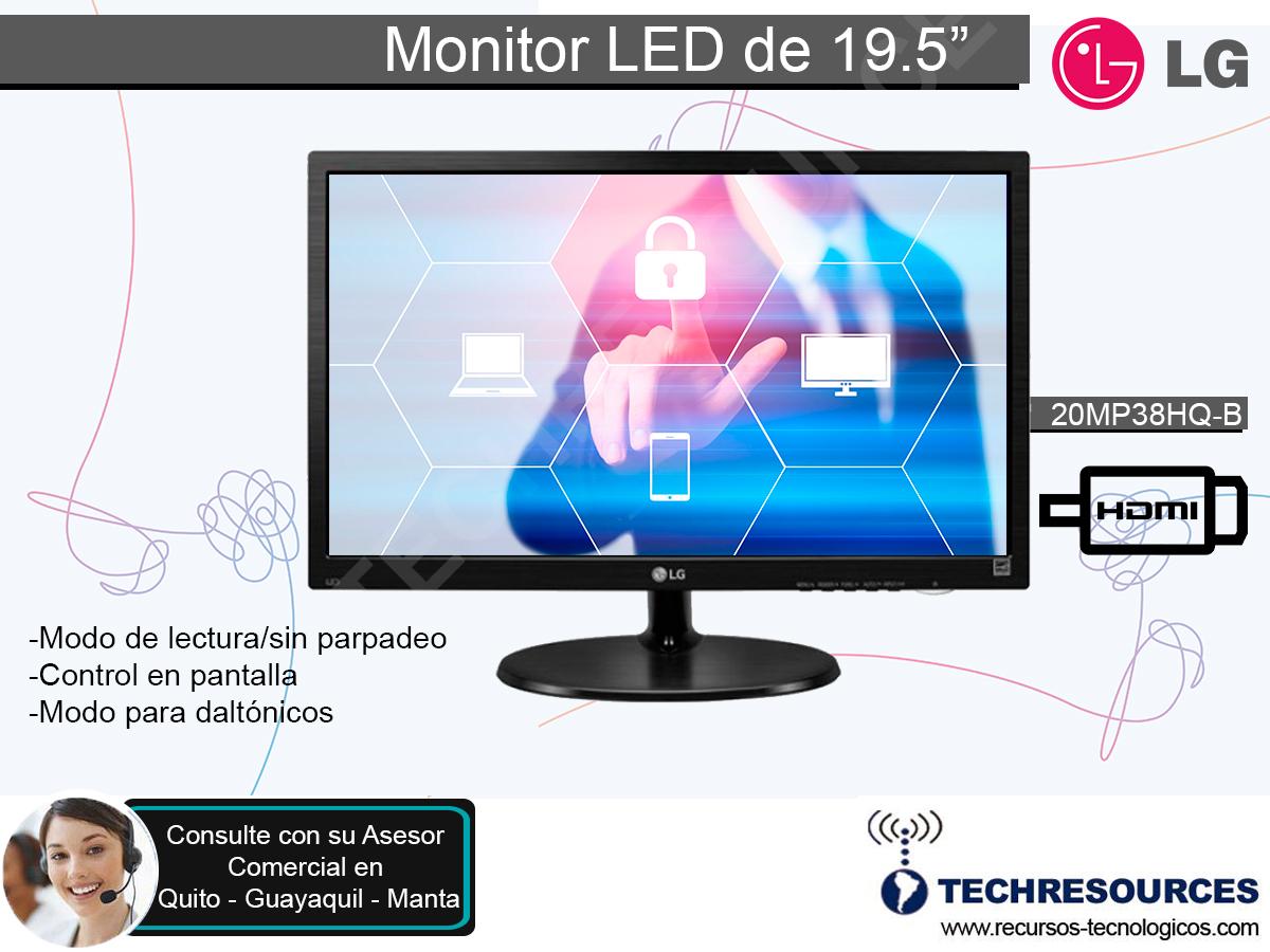 Techresources Cia Ltda Monitor Led De 19 5 Lg Somos