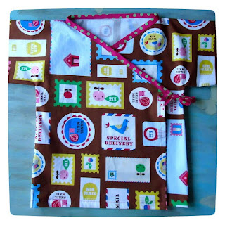 Habitual kimono in Handle With Care fabric