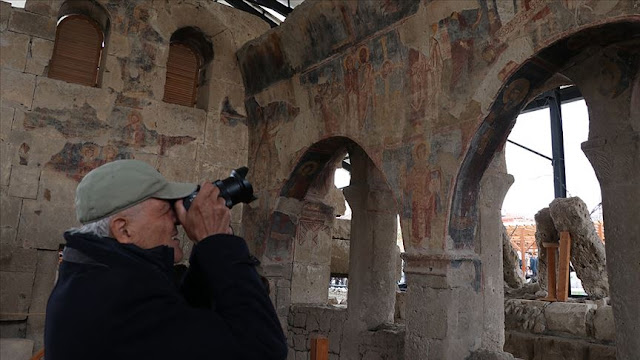 Restoration of early Byzantine church in central Turkey completed
