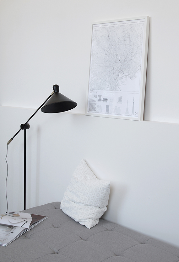 city print by Block Stdo and white origami cushion cover from S2 20