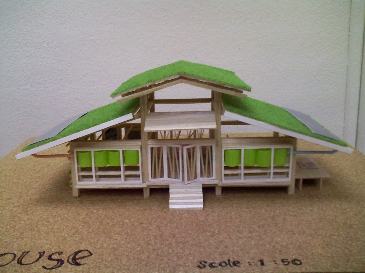 sustainable house. Black Bedroom Furniture Sets. Home Design Ideas