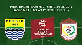 Persib vs PSM Makassar