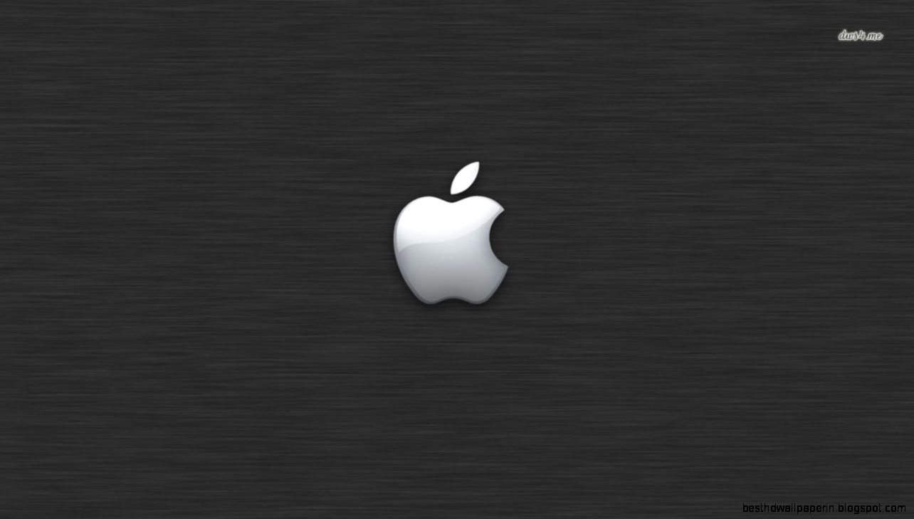 Apple logo on grey texture wallpaper   Computer wallpapers   9789