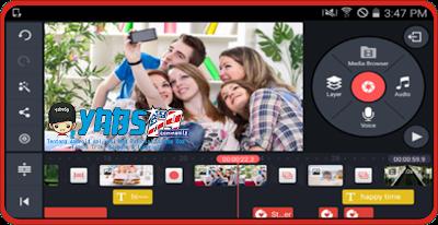 Aplikasi Edit Video Terbaik di Android Saat Ini - Kinemaster Pro