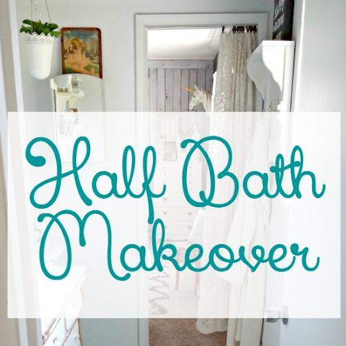 Half Bath Makeover Reveal